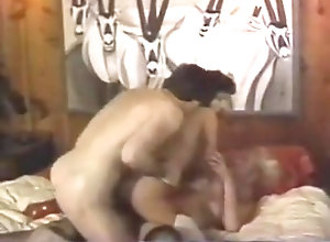 Vintage,Classic,Retro,Threesome,Stockings,Jock,Monster Cock Cristy and janet...
